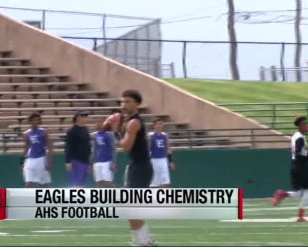 Eagles building chemistry through 7-on-7_16341806-159532