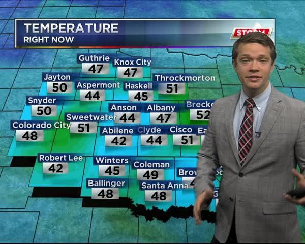 KRBC 10 PM Forecast: Sunday, January 22, 2017