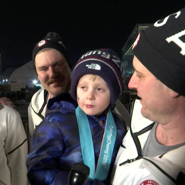 USA Curling wins Gold
