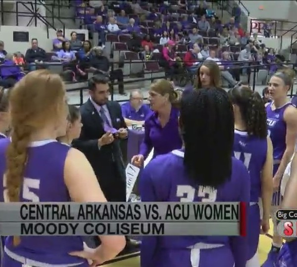 acu basketball vs. central arkansas