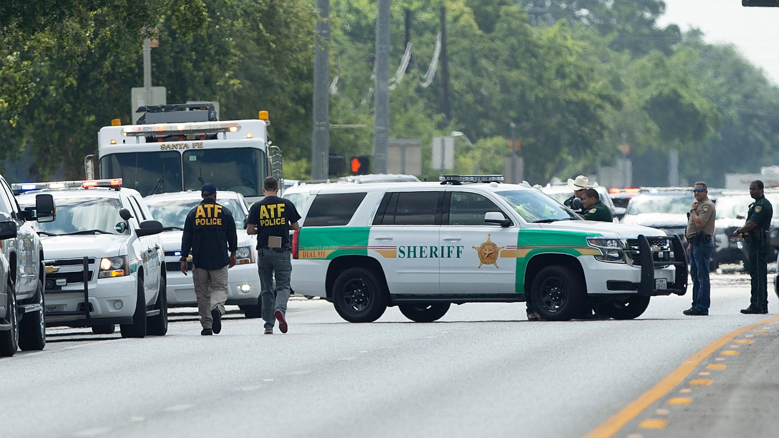 Santa Fe school shooting getty - ATF