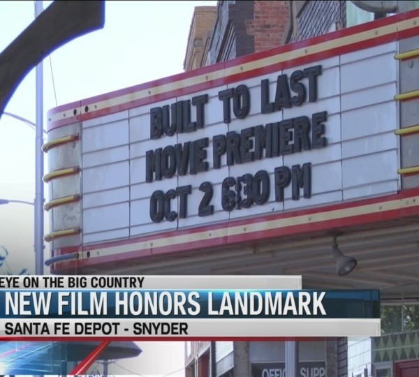 Short film dedicated to history of Snyder Santa Fe Depot to premiere Tuesday