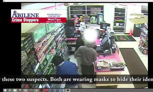 Surveillance: Masked robber