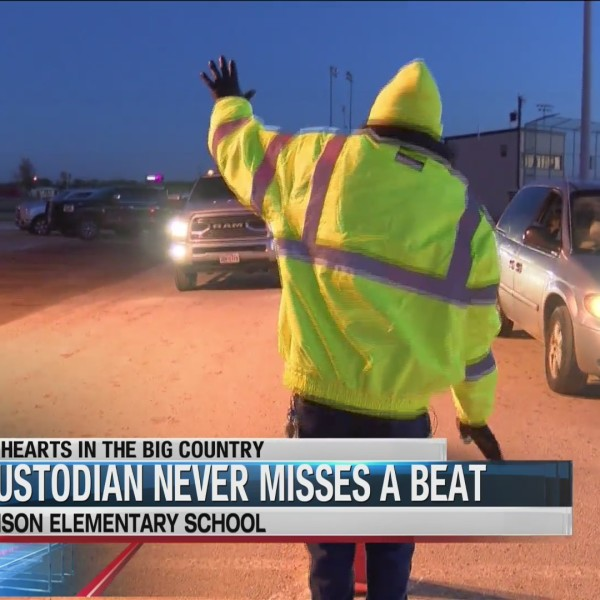 Big Hearts: dancing custodian does it for the smiles
