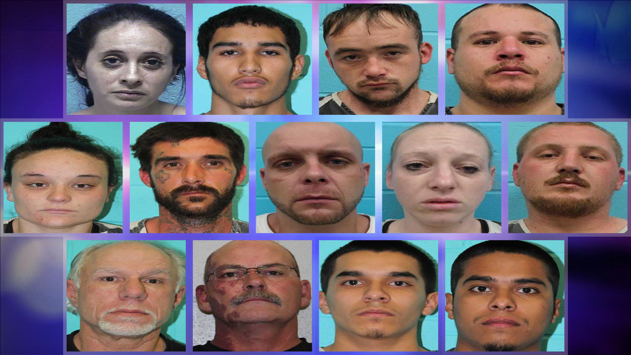 Nolan Co  Sheriff's Office nabs 7 more in Sweetwater drug bust