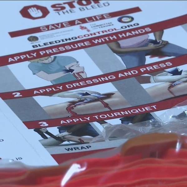 'Stop the Bleed' campaign informs citizens how to handle bleeding emergency