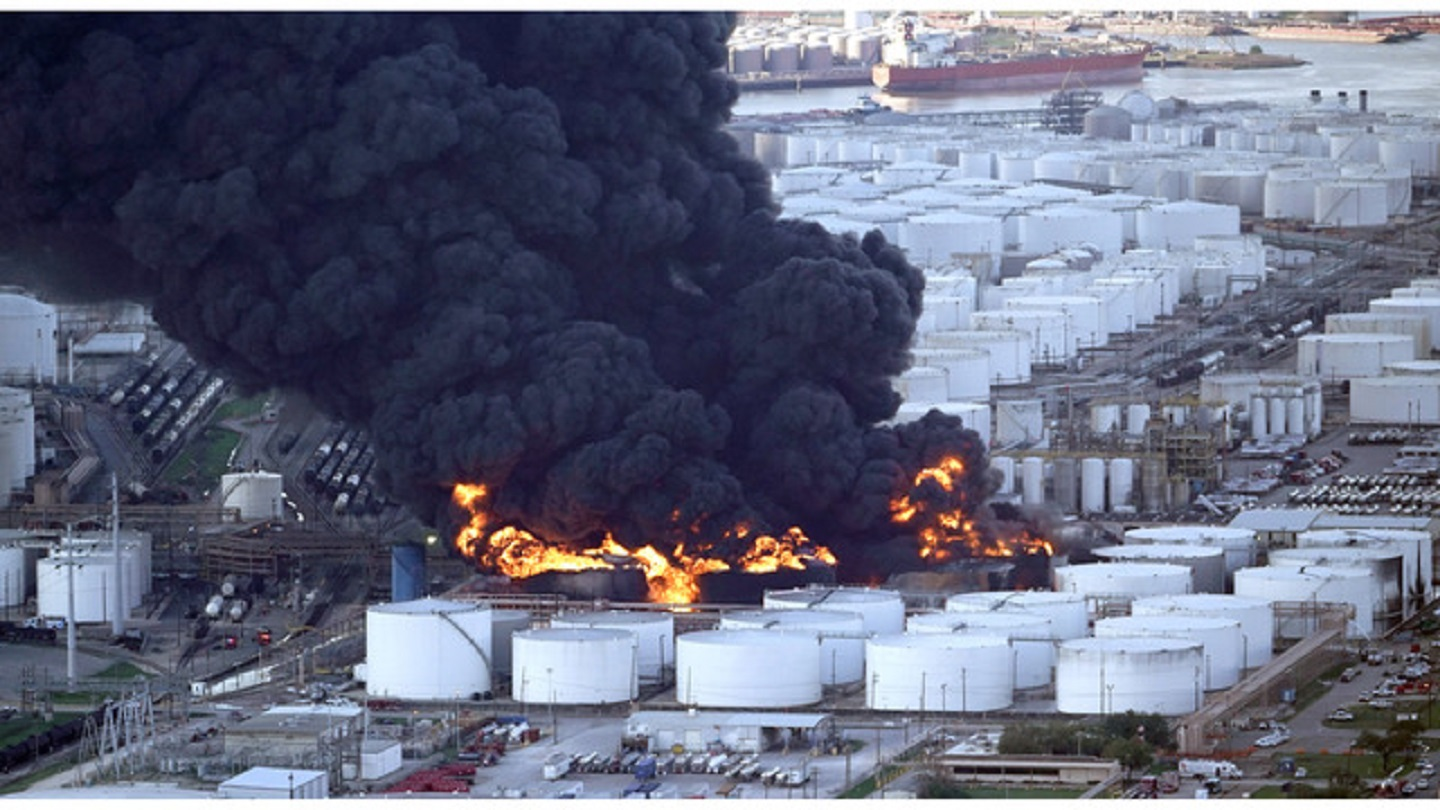 Petrochemical Fire Texas_1554929771456