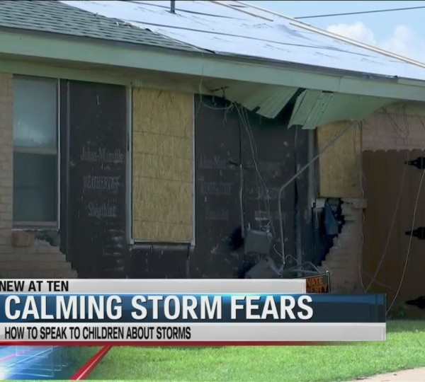 Calming storm fears of Big Country children
