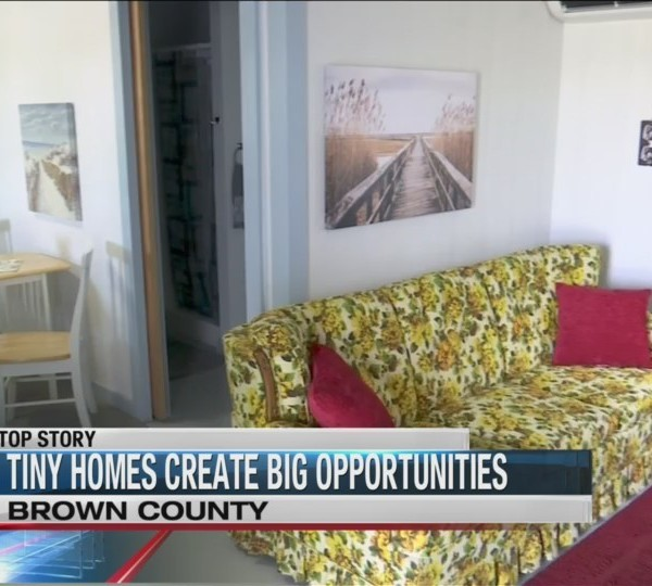 Tiny homes create big change in Brownwood