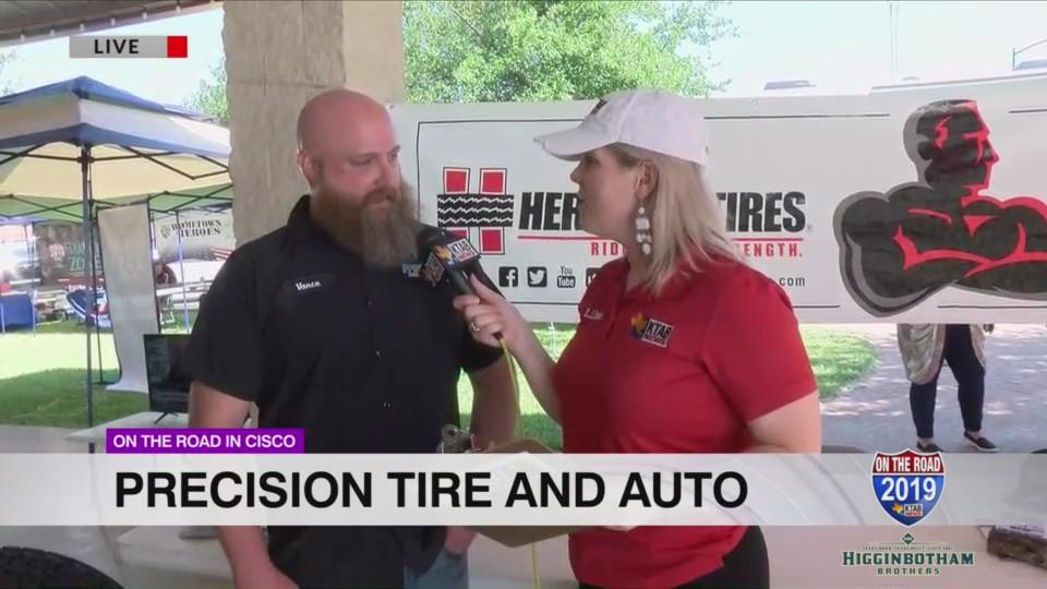 road  cisco  precision tire auto ktab bigcountryhomepagecom
