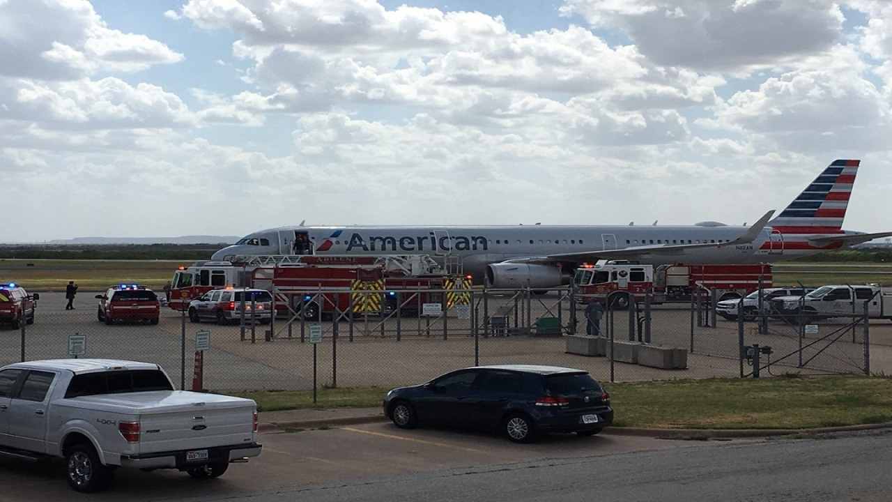 American Airlines Plane Makes Emergency Landing At Abilene