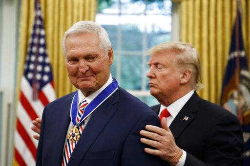 Donald Trump, Jerry West