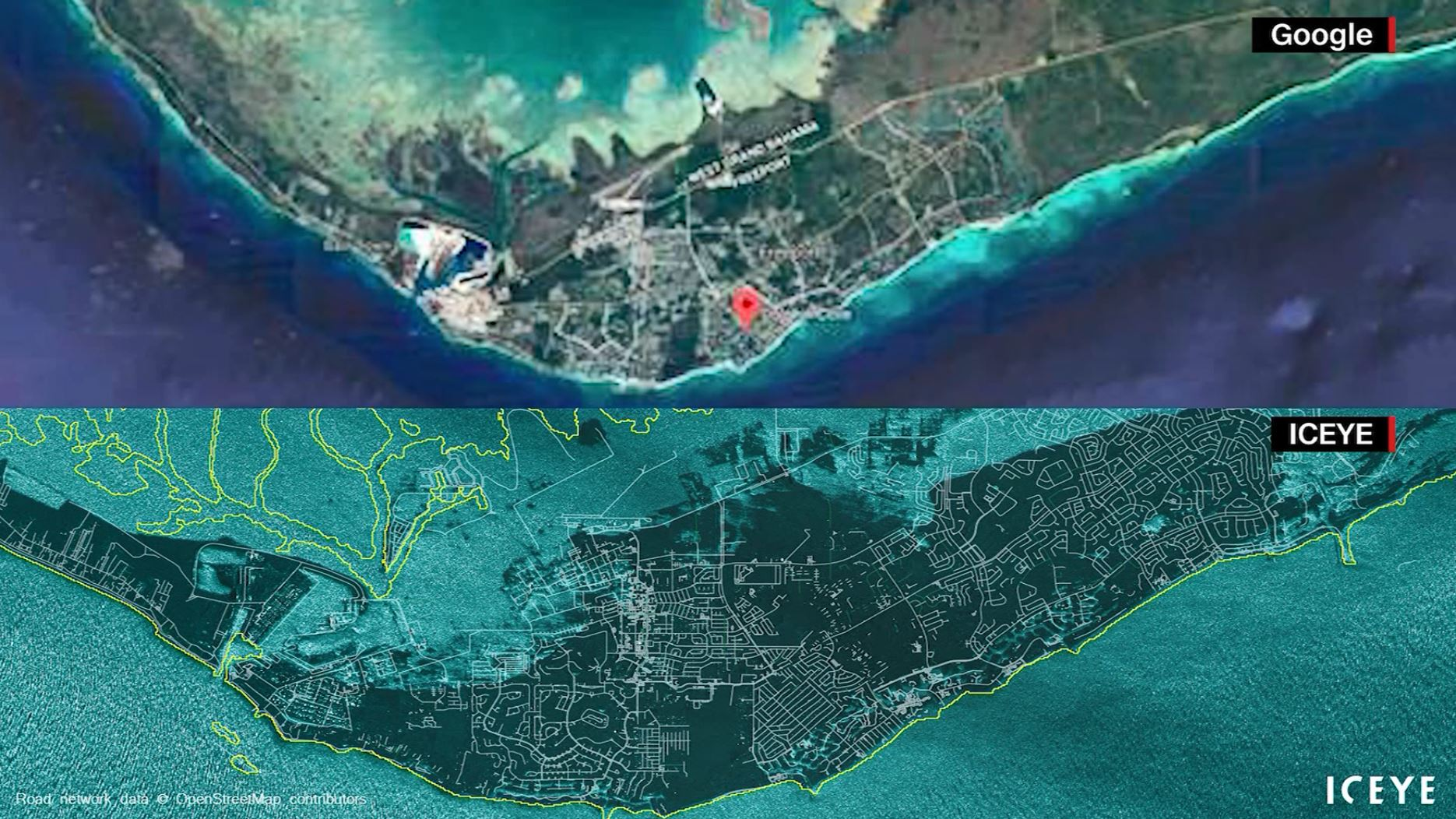 Before and after Dorian: Satellite images show extent of