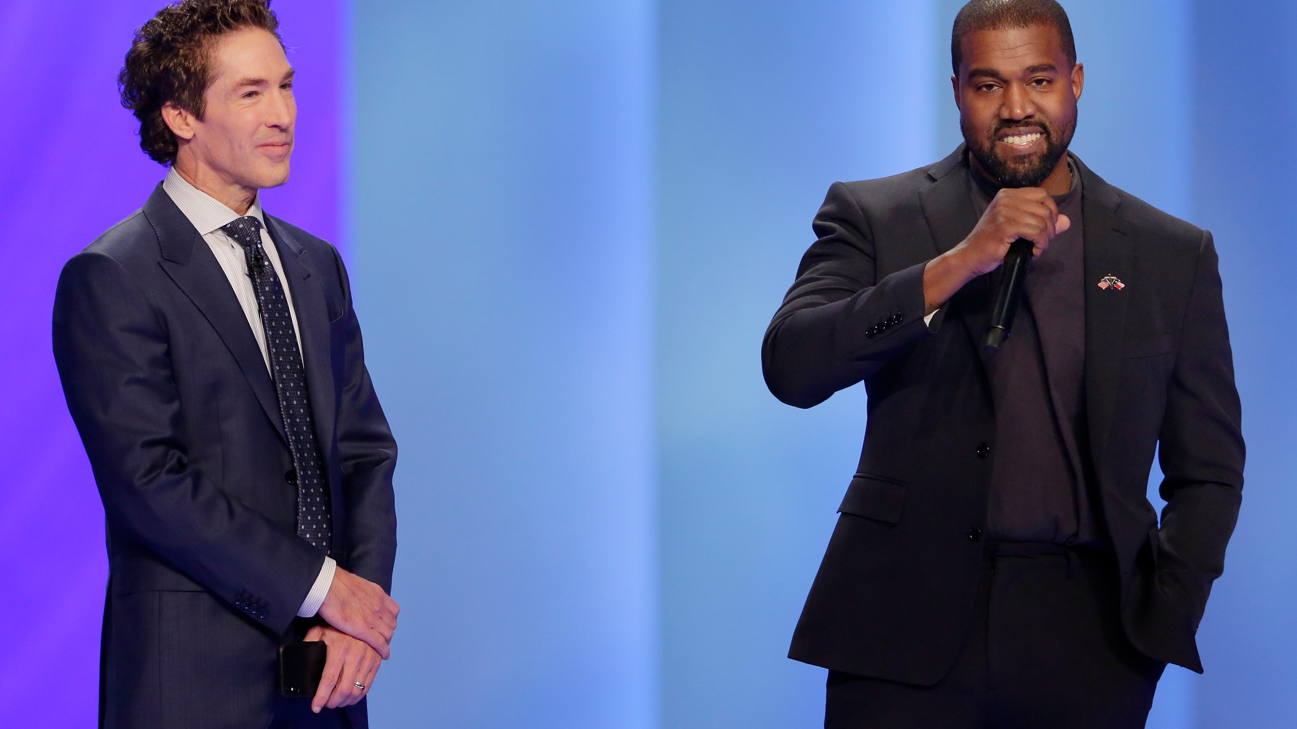 Kanye West, Joel Osteen