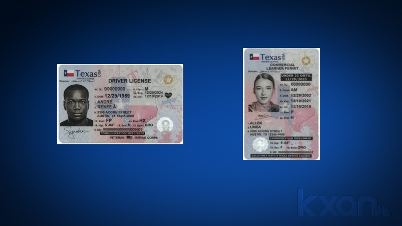 New Texas driver's licenses, carry cards have updated ...