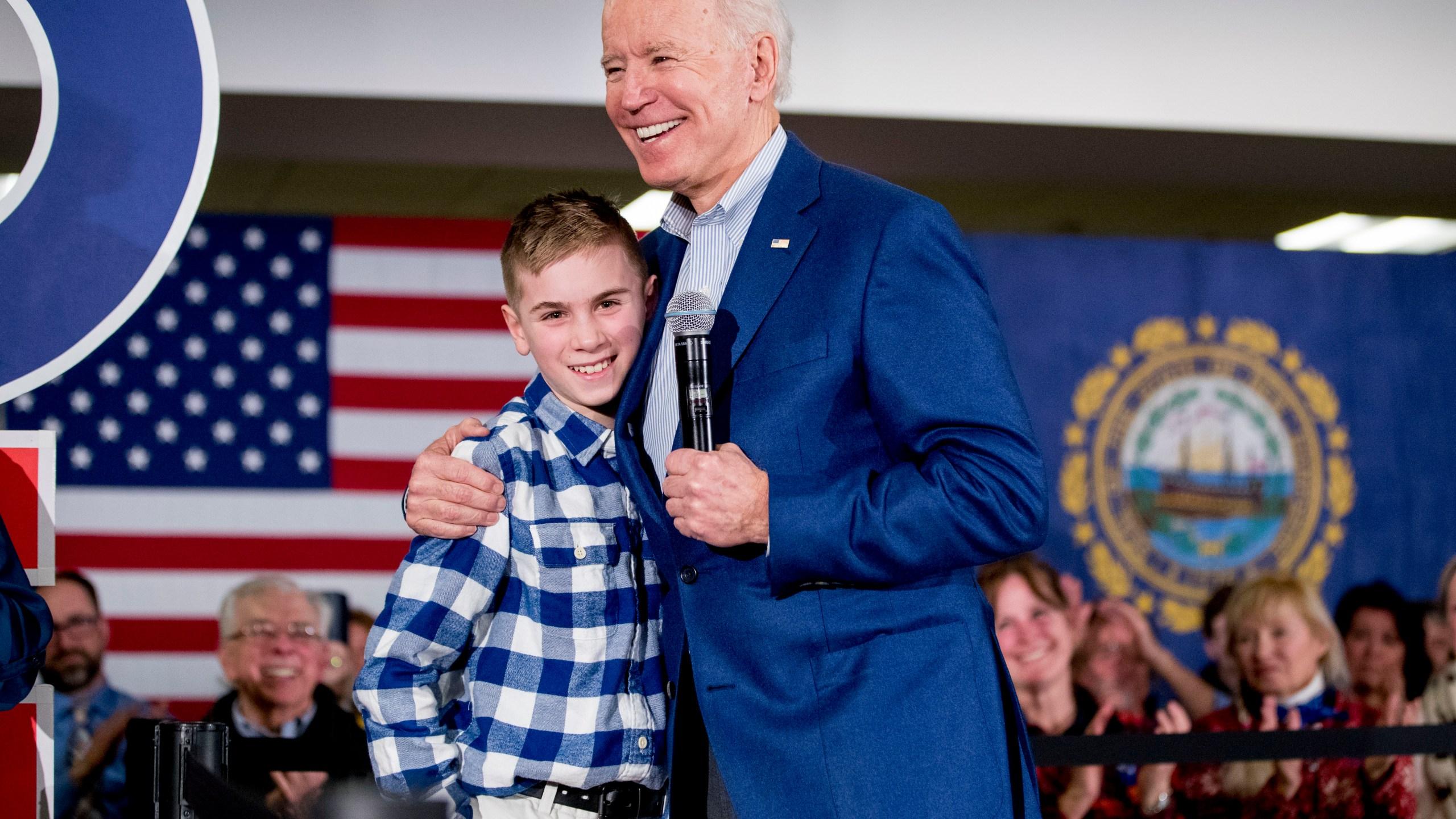 Joe Biden, Brayden Harrington