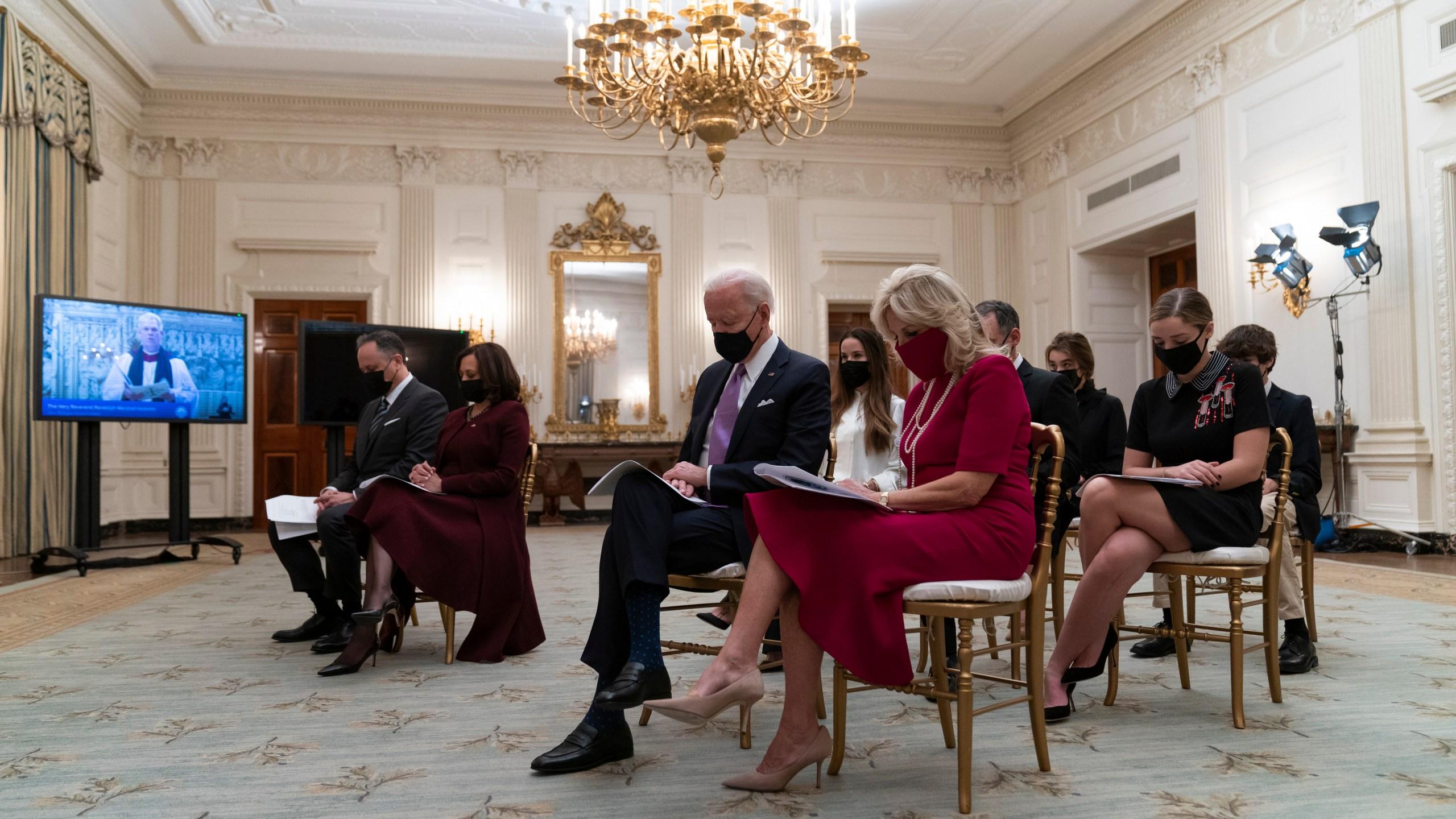 Joe Biden, Jill Biden, Kamala Harris, Doug Emhoff