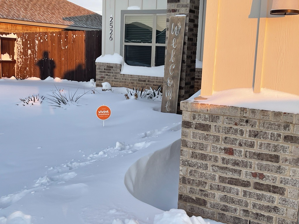 14.8 Inches: Abilene sees record-breaking snowfall