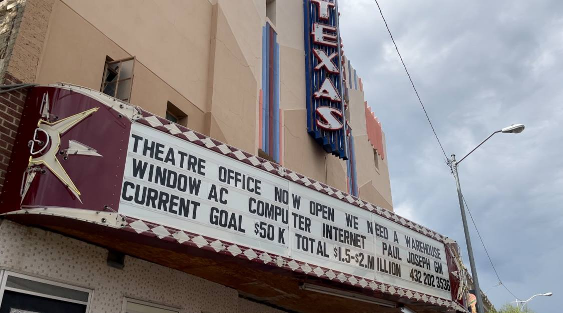 Two sweetwater residents are trying to save the historic Texas Theatre and return it to its glory days. They are asking the community to join them in their efforts to bring more options for entertainment to the town.