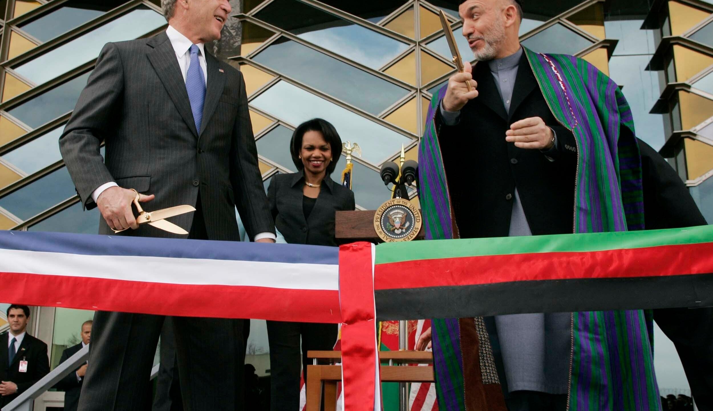 George W. Bush, Hamid Karzai